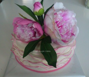 Pink Peony Rose